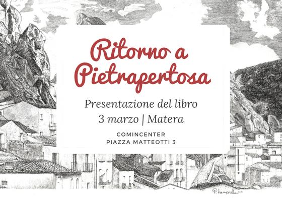 Presentazione del libro3 marzo - Matera
